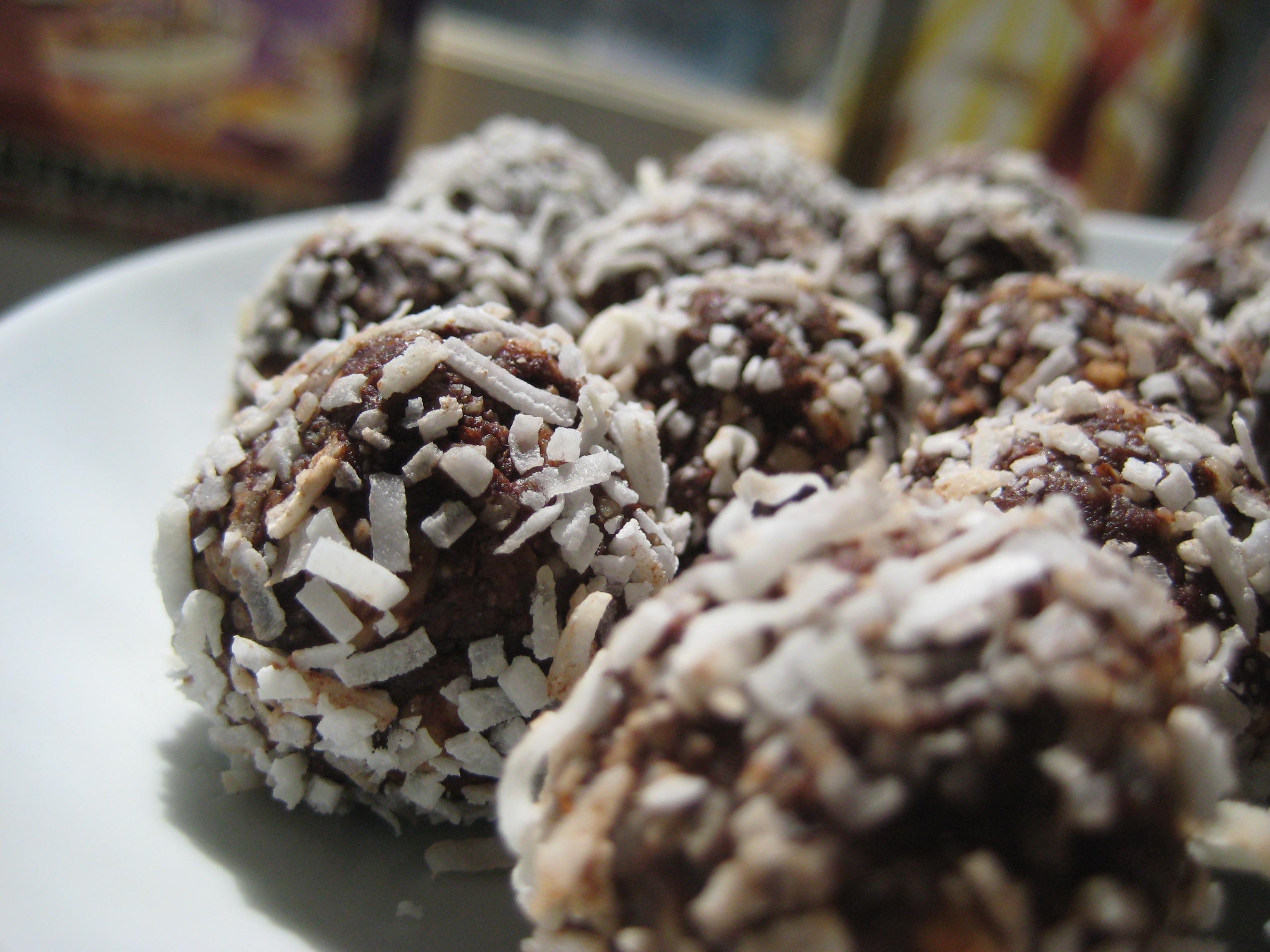 Chocolate salty balls. | Bonne Santé